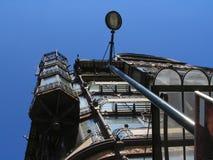 Fachada do edifício de Nouveau da arte em Bruxelas. foto de stock royalty free