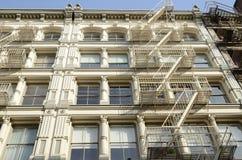 Fachada do edifício do ferro fundido Imagem de Stock Royalty Free