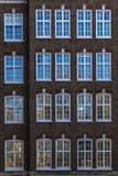 Fachada do edifício em Londres fotos de stock royalty free