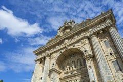 Fachada do monastério de Cartuja, Jerez de la Frontera Imagens de Stock Royalty Free