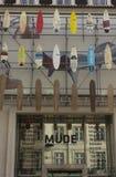 Fachada do museu de Mude da forma e do projeto Imagens de Stock Royalty Free