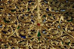 Fachada do ouro foto de stock