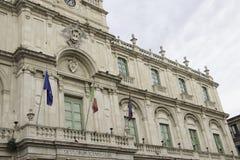 Fachada do palácio da universidade imagens de stock