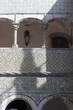 Fachada do palácio nacional de Sintra em Portugal Fotografia de Stock Royalty Free