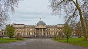 Fachada do palácio real de Laken Fotos de Stock Royalty Free
