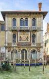 Fachada do Palazzo Salviati em Grand Canal, Veneza fotografia de stock