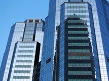 Fachada do prédio de escritórios Fotografia de Stock Royalty Free