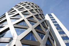 Fachada do prédio de escritórios Foto de Stock Royalty Free