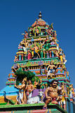 Fachada do templo hindu Foto de Stock Royalty Free