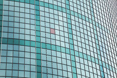 Fachada do vidro verde Imagem de Stock Royalty Free