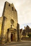 Fachada Domme France da igreja Fotos de Stock