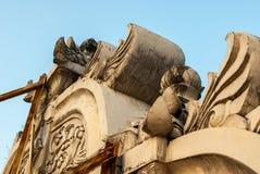 Fachada en el Kraton Imagenes de archivo
