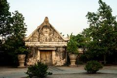 Fachada en el Kraton Imagen de archivo libre de regalías