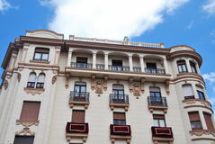 Fachada en Sevilla Fotografía de archivo libre de regalías