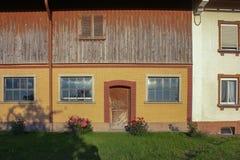 fachada estable del edificio Imagen de archivo libre de regalías