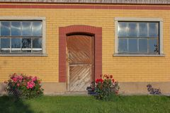 fachada estable del edificio Imagen de archivo