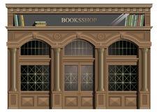 A fachada exterior da madeira Fotografia de Stock