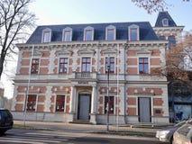 Fachada exterior del ayuntamiento, Erkner, Alemania Imagen de archivo libre de regalías
