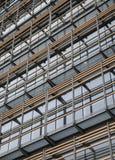 Fachada exterior del edificio de oficinas moderno Imágenes de archivo libres de regalías