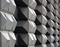 Fachada geométrica Foto de archivo libre de regalías