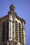 Fachada gótico da torreta da igreja Imagem de Stock Royalty Free