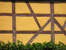 Fachada Half-timbered Foto de Stock Royalty Free