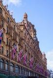 Fachada Harrods Londres Imagens de Stock Royalty Free