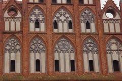 Fachada hermosa de una catedral Imagen de archivo libre de regalías