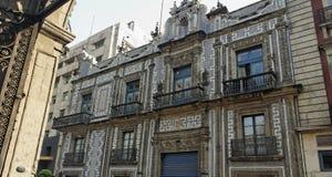 Fachada histórica do edifício Imagem de Stock