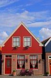 Fachada holandesa do edifício fotografia de stock