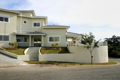 Fachada Home Foto de Stock Royalty Free