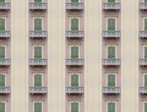 Fachada infinita das janelas Imagem de Stock