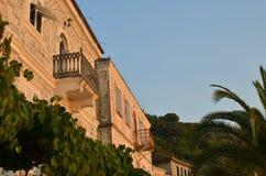 Fachada litoral do palácio fotos de stock royalty free