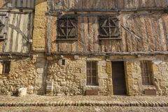 Fachada medieval da casa Imagem de Stock Royalty Free
