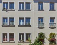 Fachada moderna da casa do movimento, Alemanha Fotos de Stock Royalty Free