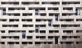 Fachada moderna del edificio Foto de archivo