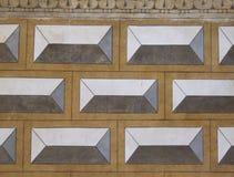 Fachada, mosaico Imagen de archivo libre de regalías