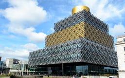 Fachada noroeste da biblioteca da rua larga de Birmingham Imagem de Stock Royalty Free