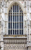 Fachada occidental, abadía de Westminster Fotografía de archivo