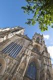 Fachada occidental de la iglesia de monasterio de York, York, Reino Unido Fotografía de archivo libre de regalías