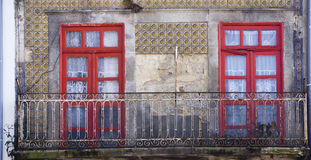 Fachada Oporto Portugal Imagenes de archivo