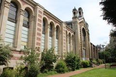 Fachada - palácio Rameau - Lille - França (2) Foto de Stock