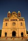 Fachada principal de la catedral de Speyer, Alemania Imágenes de archivo libres de regalías