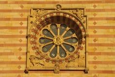 Fachada principal de la catedral de Speyer, Alemania Fotografía de archivo libre de regalías