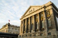 Fachada principal do Pergammonmuseum em Berlim, Alemanha Fotos de Stock Royalty Free