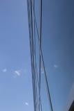 Fachada reflexiva da construção Foto de Stock