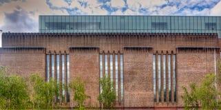 Fachada Tate Modern, Londres, Inglaterra Fotografia de Stock