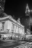 Fachada terminal de Grand Central de Park Avenue Fotografia de Stock