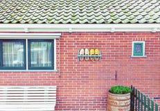 Fachada tradicional da casa Fotografia de Stock Royalty Free