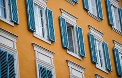 Fachada tradicional de Salzburg Fotografía de archivo libre de regalías